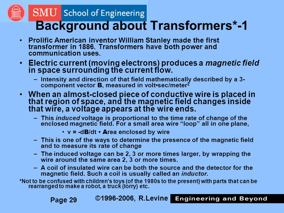 Background about Transformers*-1