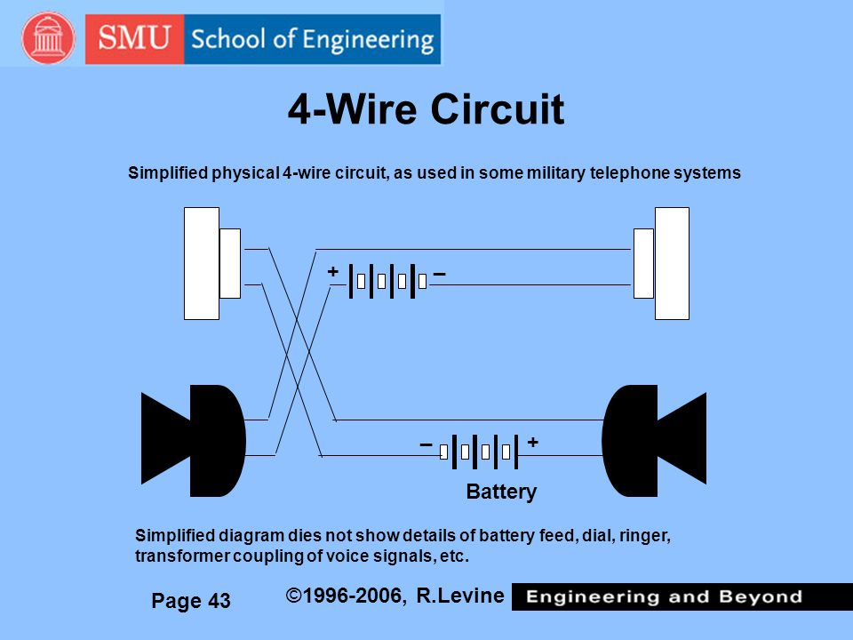 4-Wire Circuit _ + _ + Battery