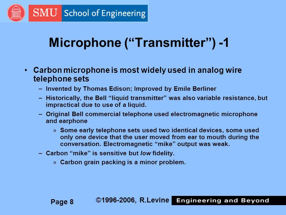 Microphone ( Transmitter ) -1