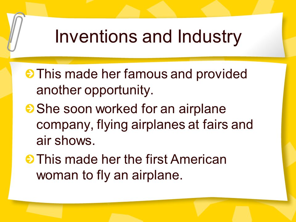 Inventions and Industry