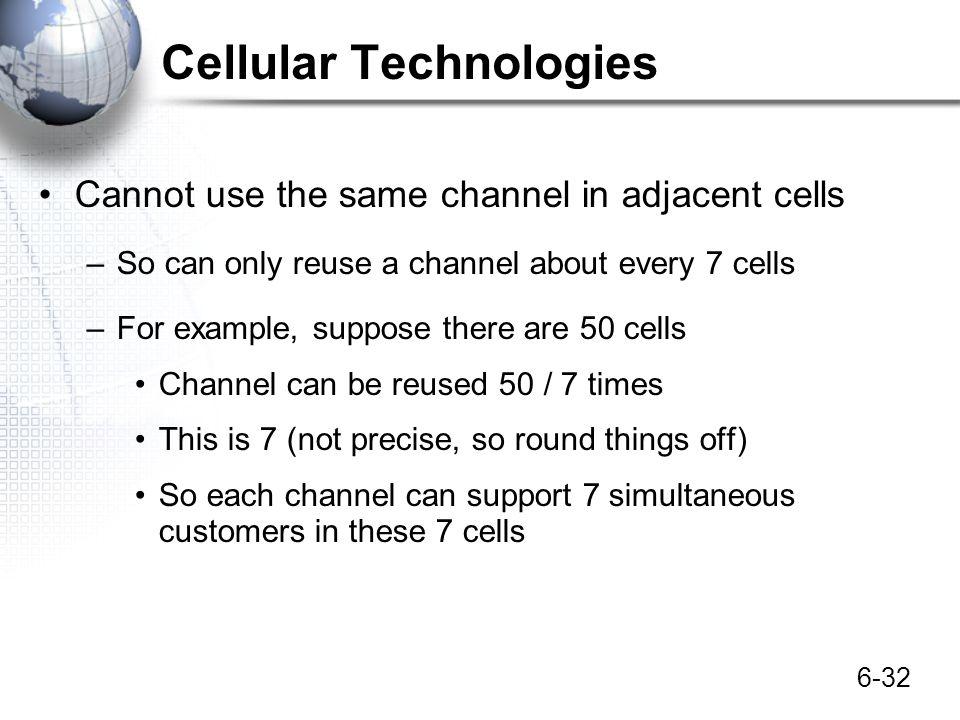 Cellular Technologies