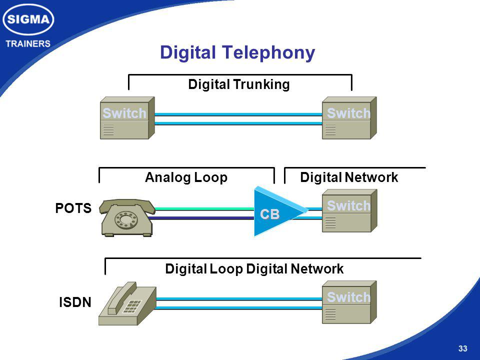 Digital Loop Digital Network
