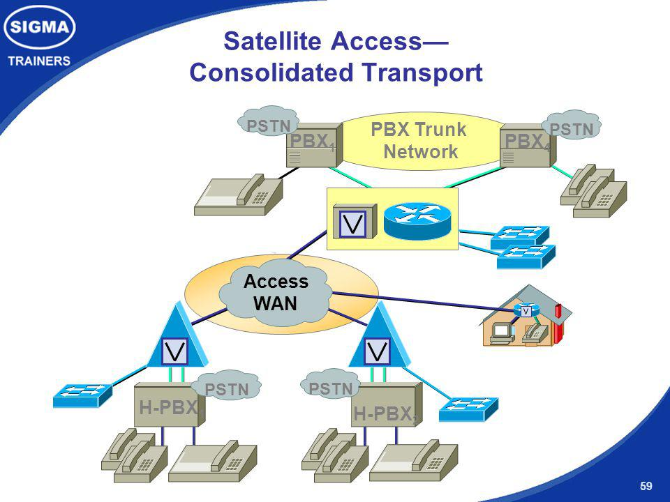 Satellite Access— Consolidated Transport