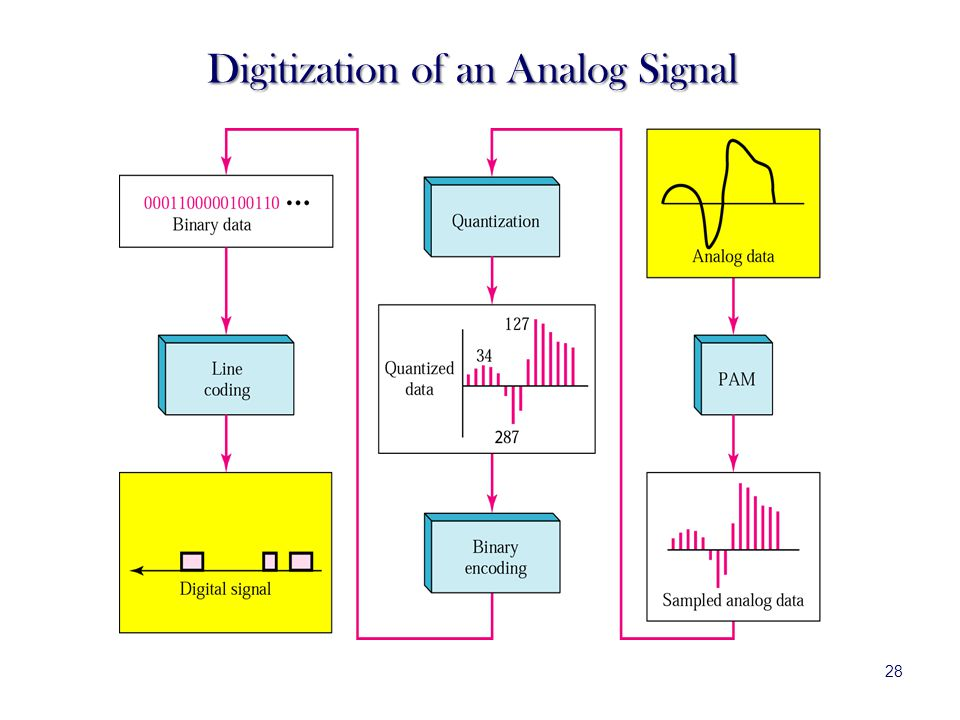 Digitization of an Analog Signal