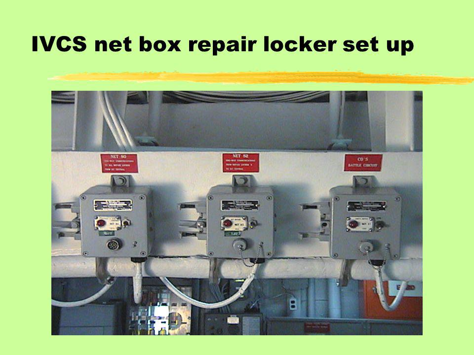IVCS net box repair locker set up