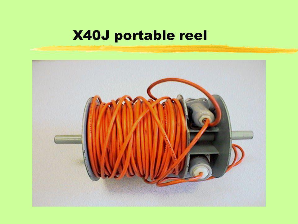 X40J portable reel