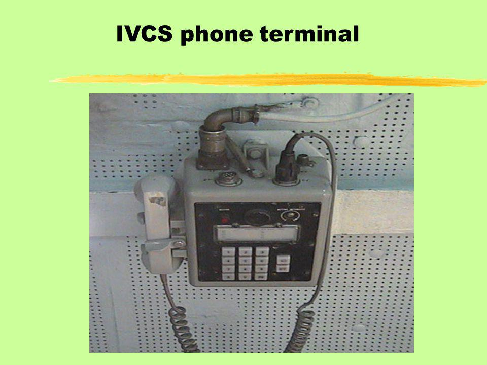 IVCS phone terminal