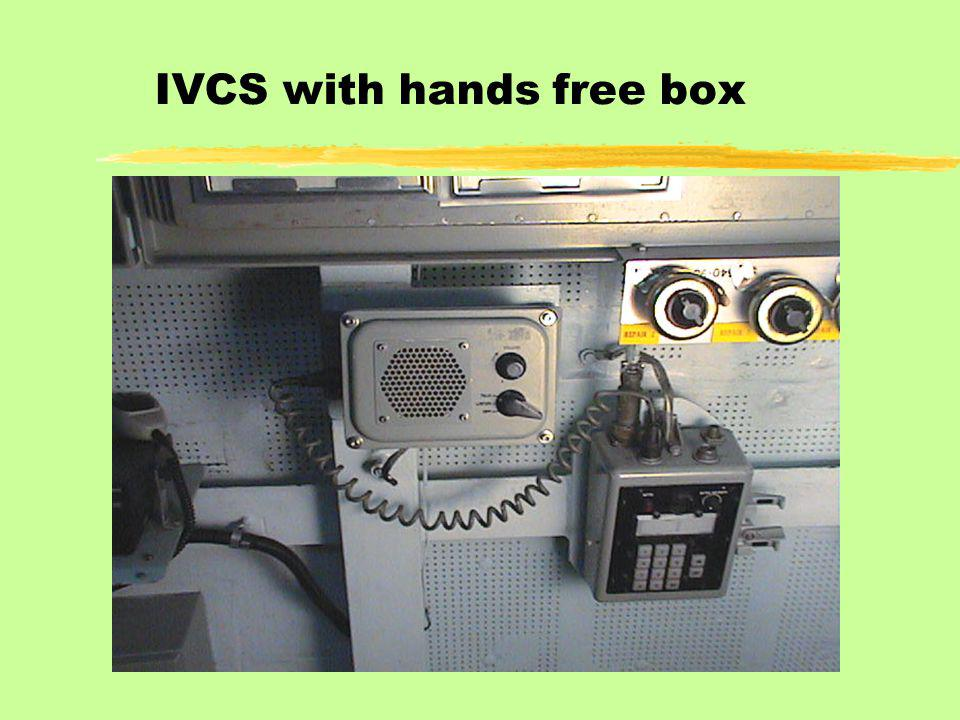 IVCS with hands free box