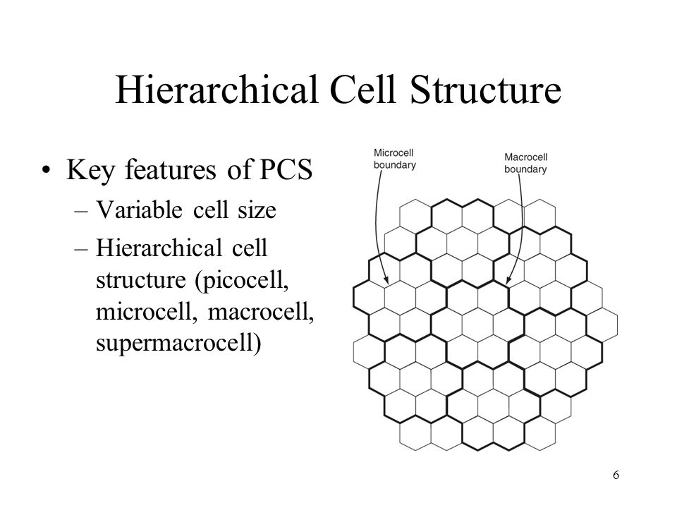 Hierarchical Cell Structure