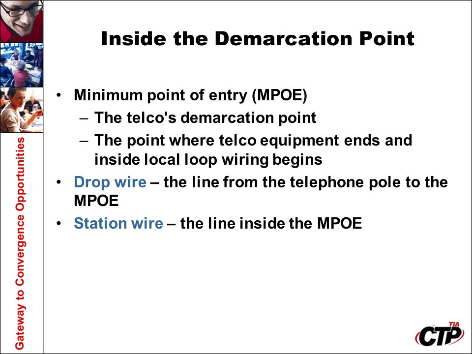 Inside the Demarcation Point