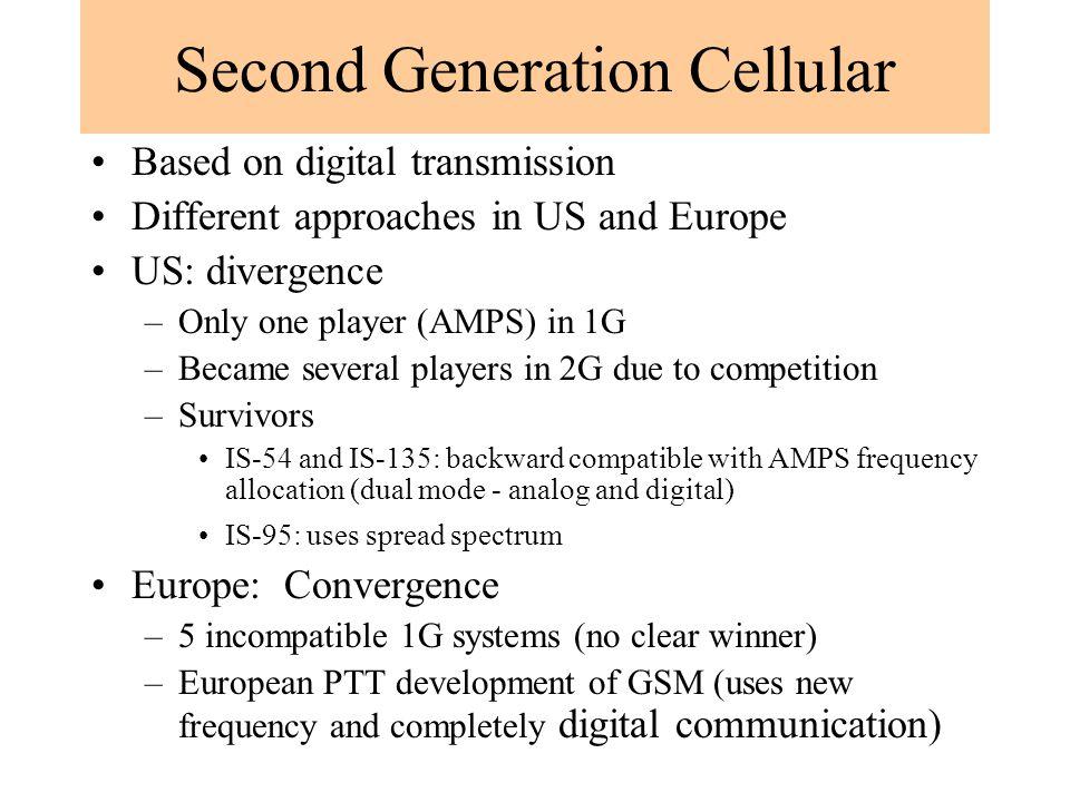 Second Generation Cellular
