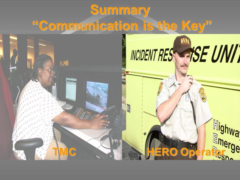 Summary Communication is the Key