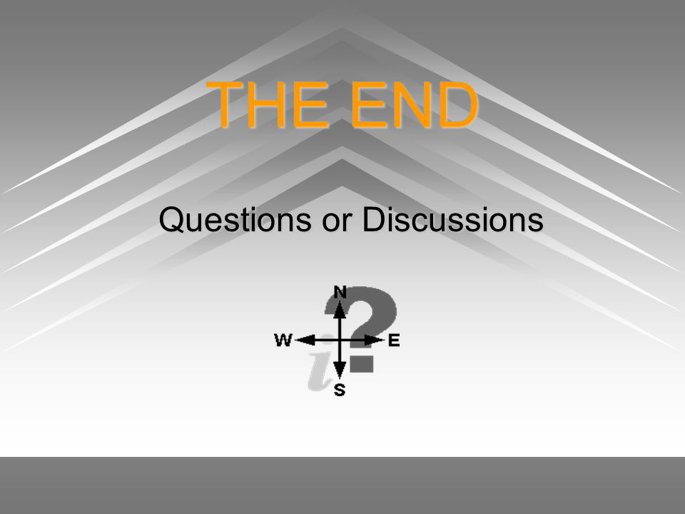 Questions or Discussions