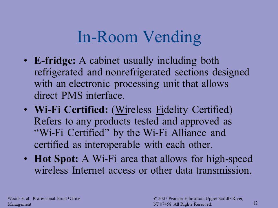 In-Room Vending
