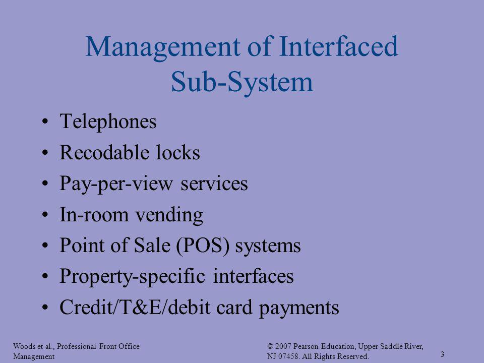 Management of Interfaced Sub-System