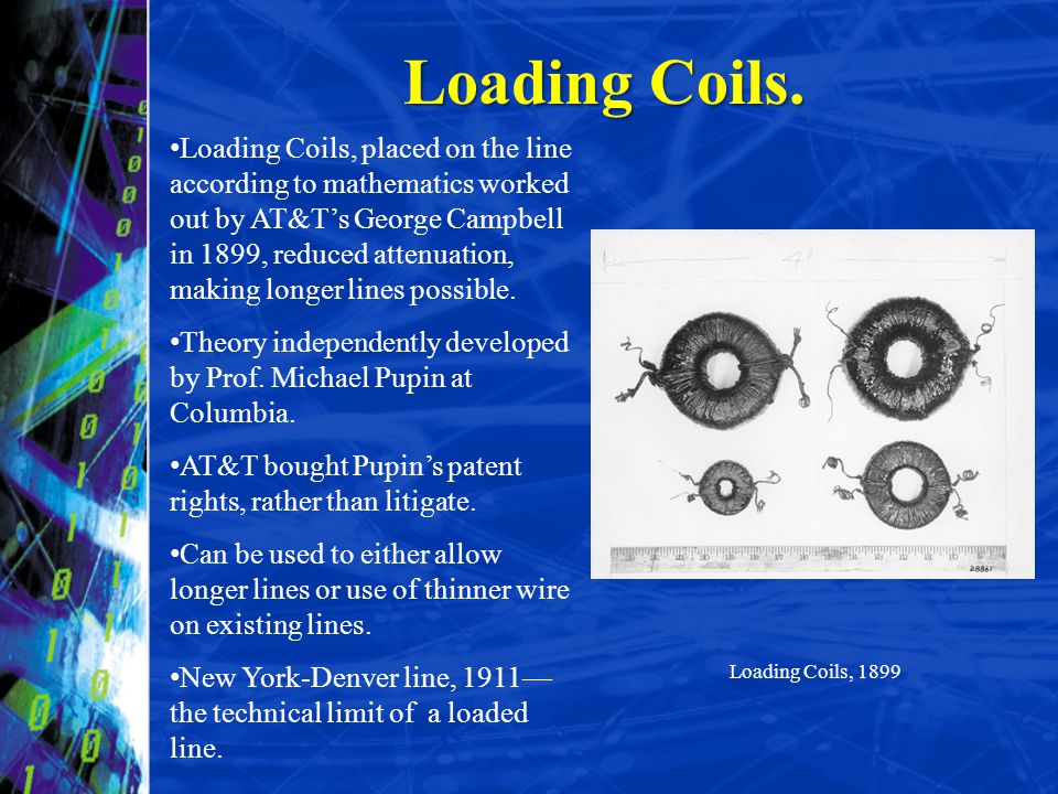 Loading Coils.