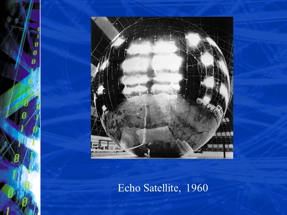Echo Satellite, 1960