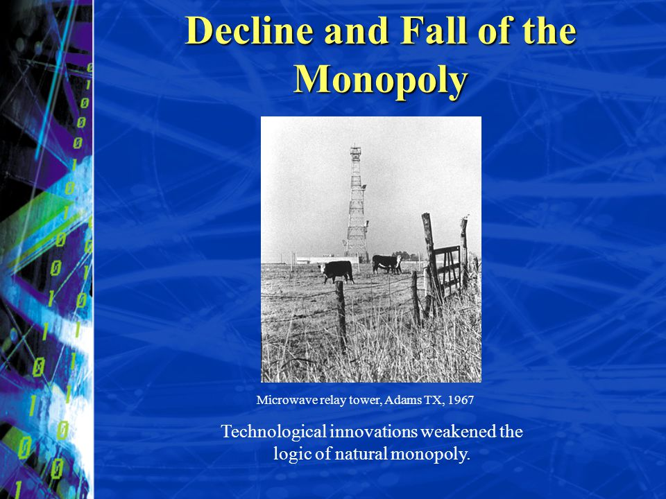 Decline and Fall of the Monopoly