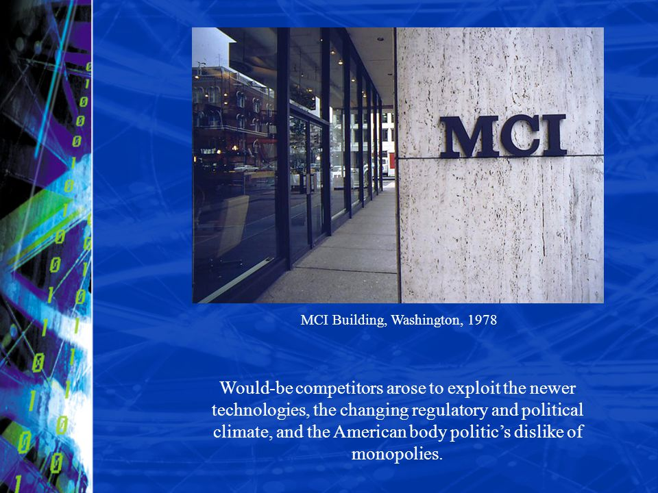 MCI Building, Washington, 1978