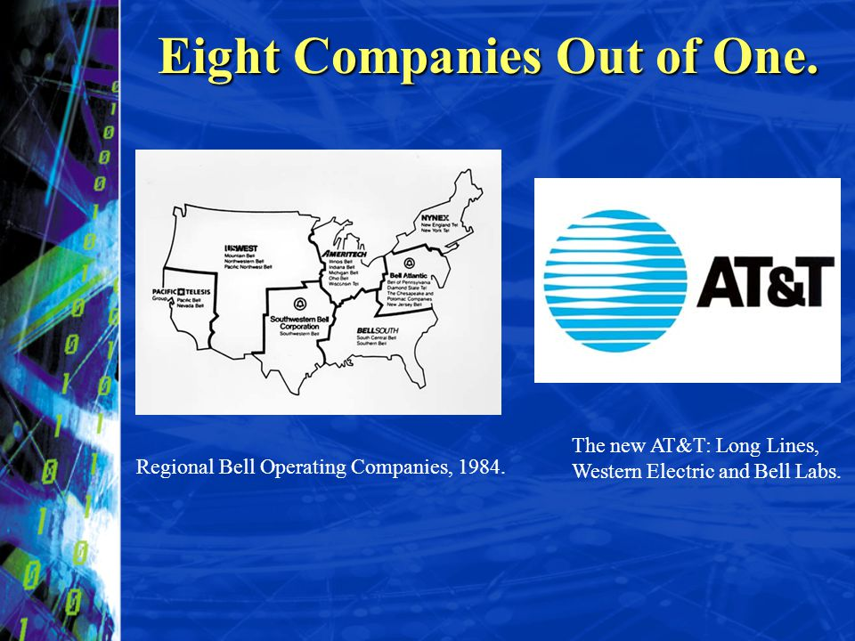 Eight Companies Out of One.