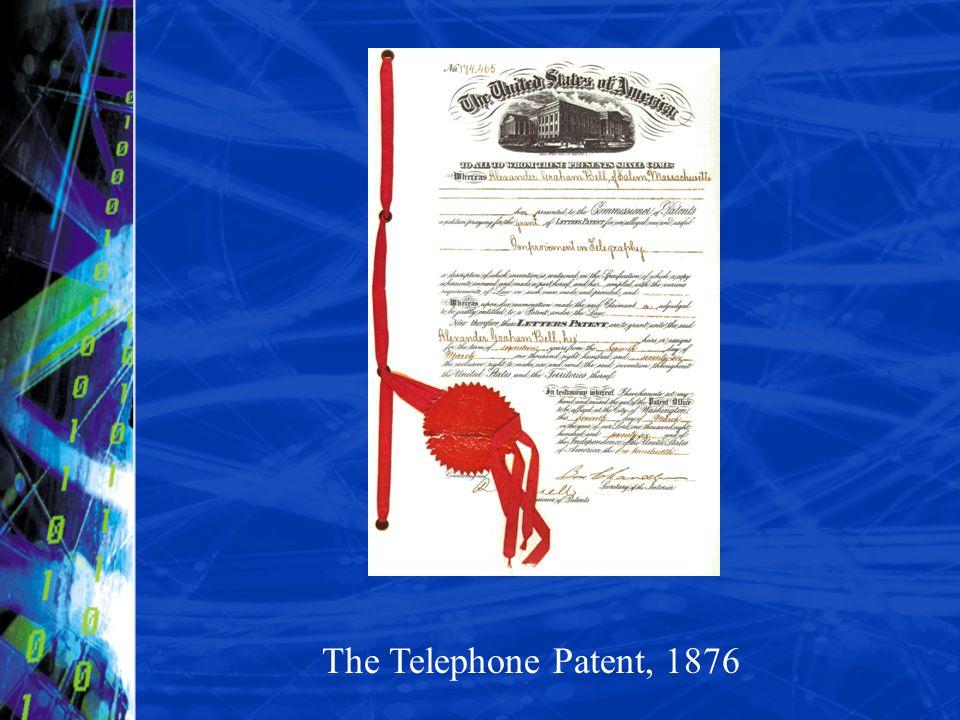 The Telephone Patent, 1876