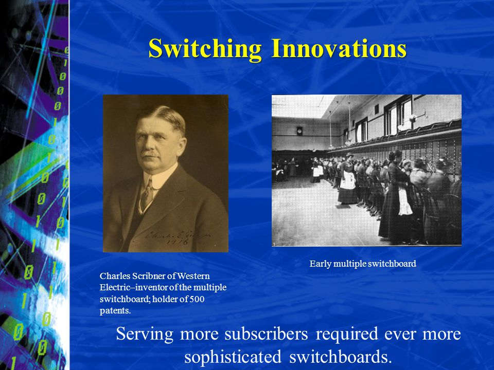 Switching Innovations