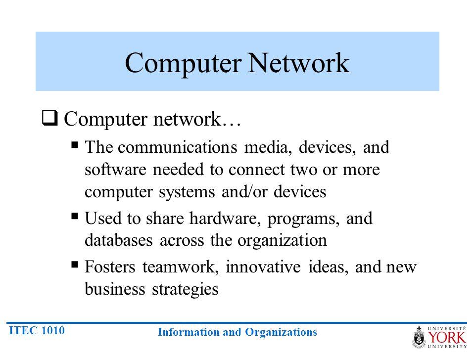 Computer Network Computer network…