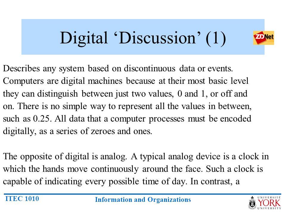 Digital 'Discussion' (1)