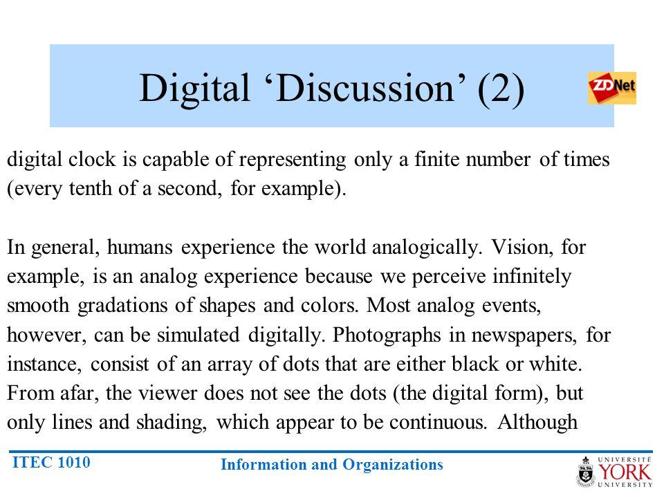 Digital 'Discussion' (2)