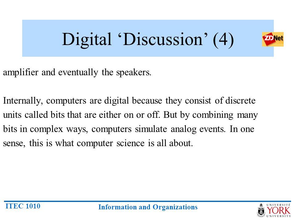 Digital 'Discussion' (4)