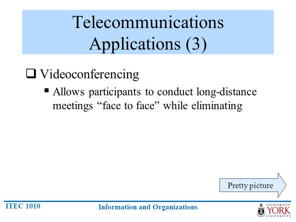 Telecommunications Applications (3)