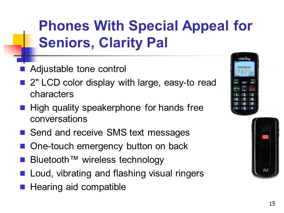 Phones With Special Appeal for Seniors, Clarity Pal