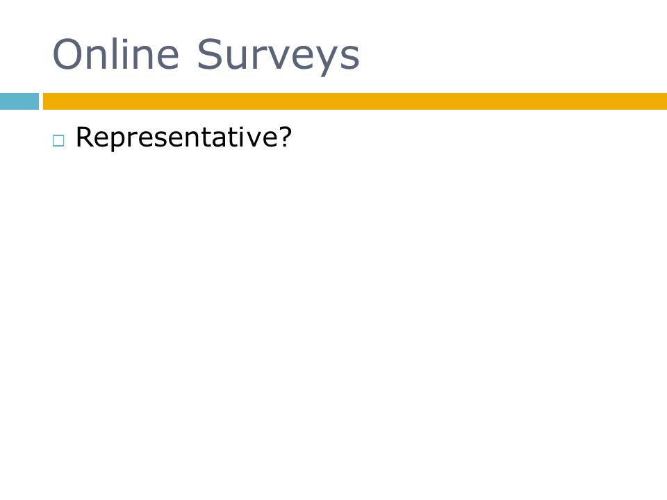 Online Surveys Representative