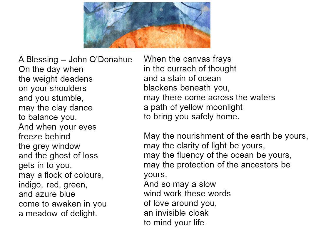 A Blessing – John O Donahue