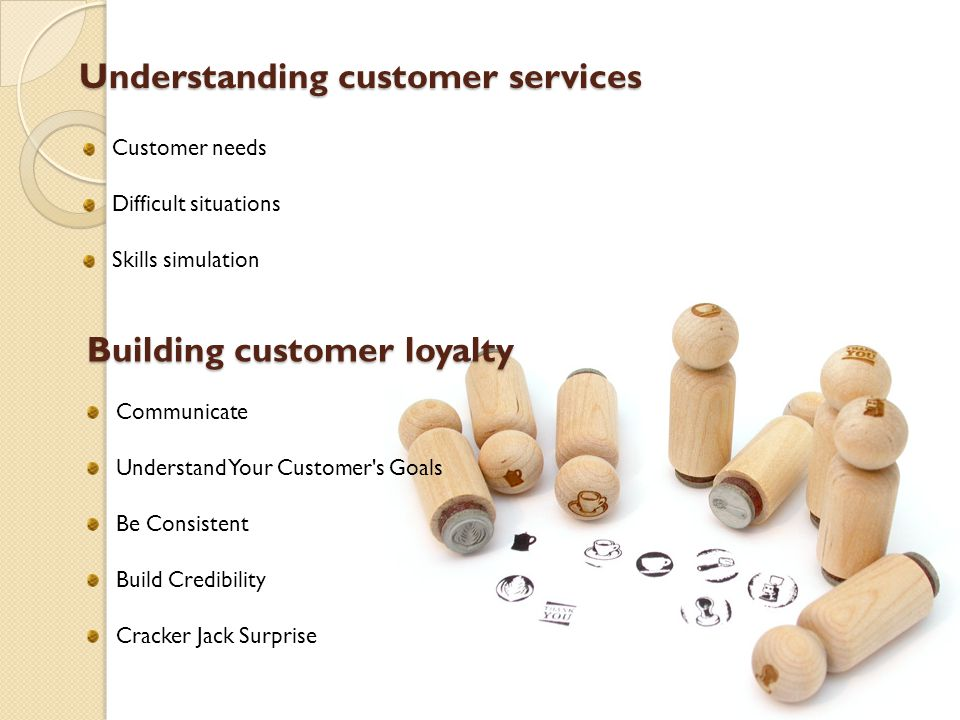 Understanding customer services