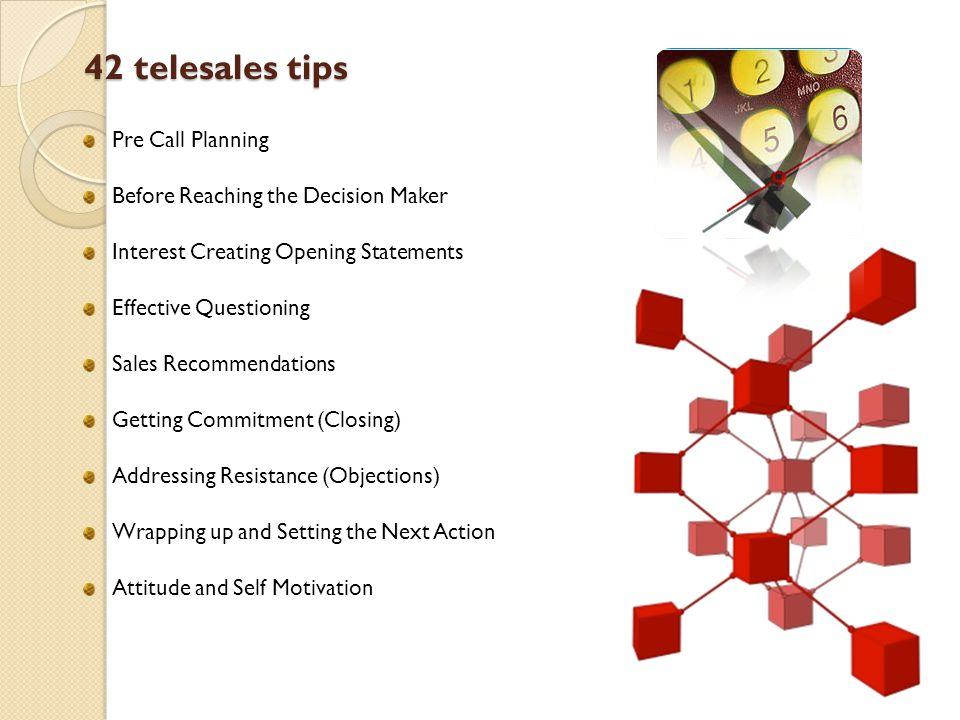 42 telesales tips Pre Call Planning Before Reaching the Decision Maker