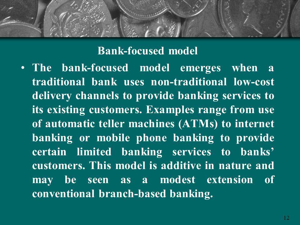 Bank-focused model