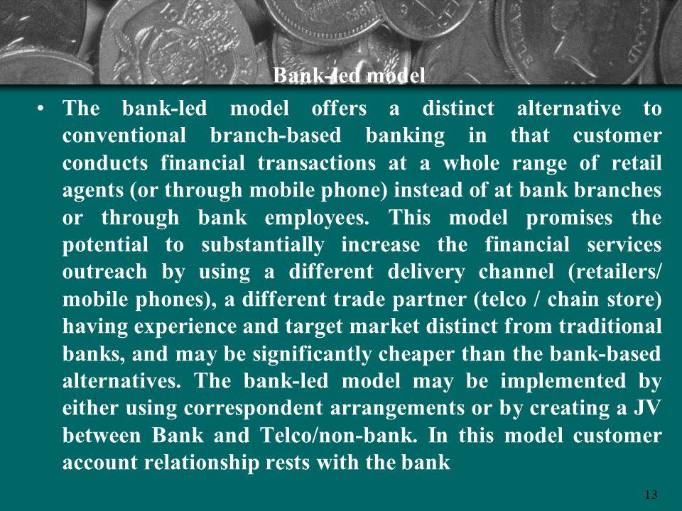 Bank-led model