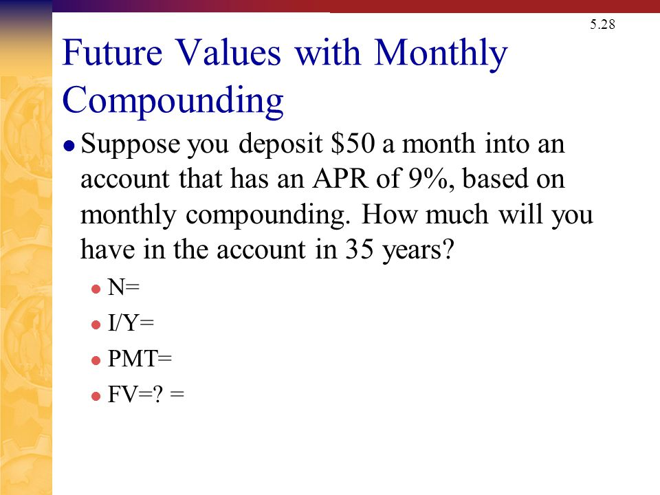 Present Value with Daily Compounding