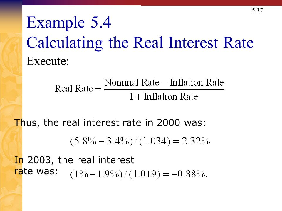 Determine your Nominal Interest Rate