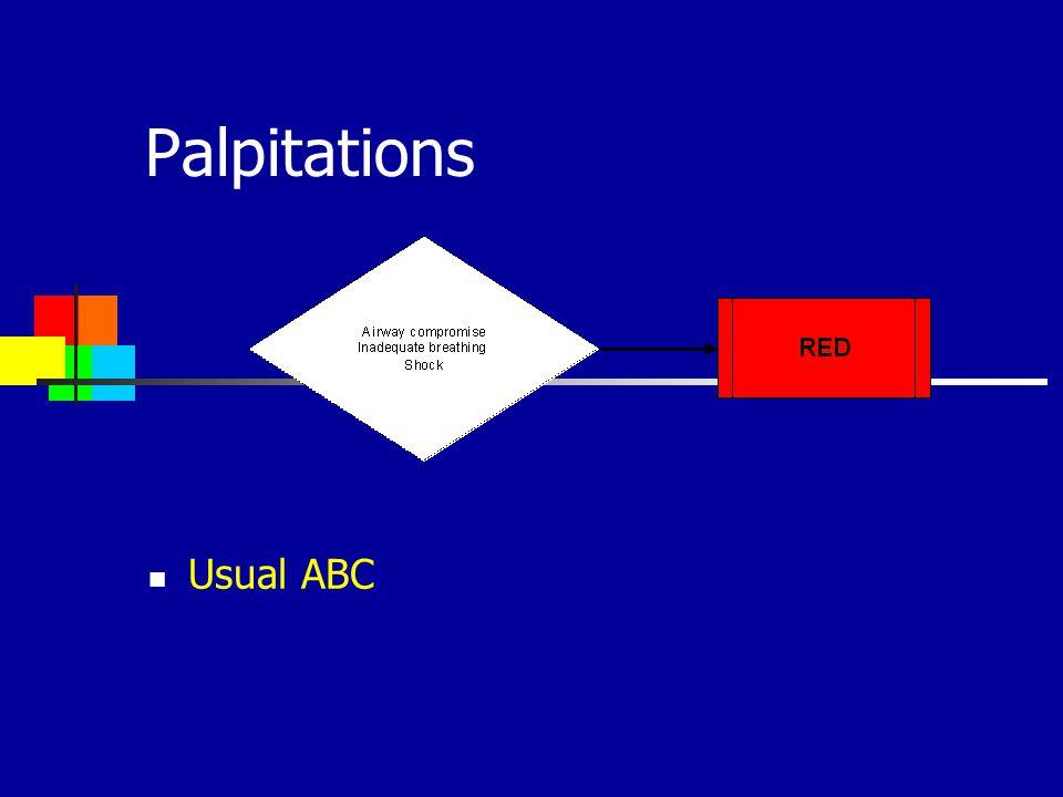 Palpitations Usual ABC 21