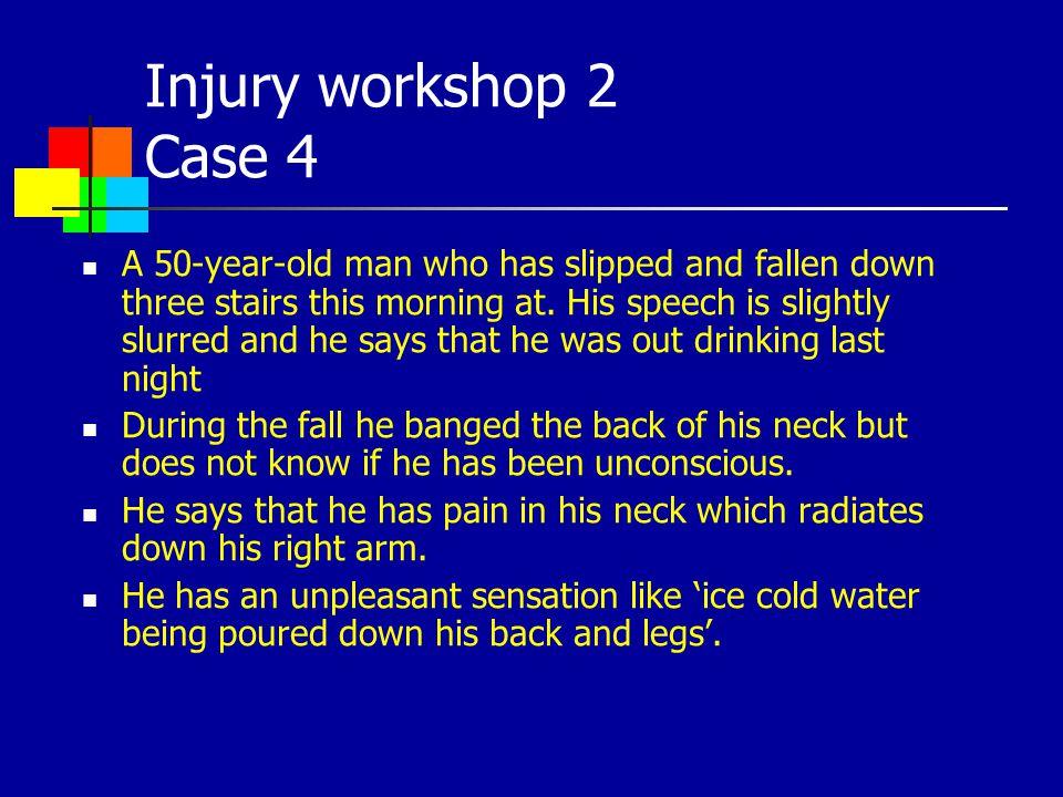 Injury workshop 2 Case 4