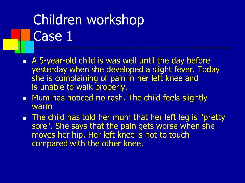 Children workshop Case 1