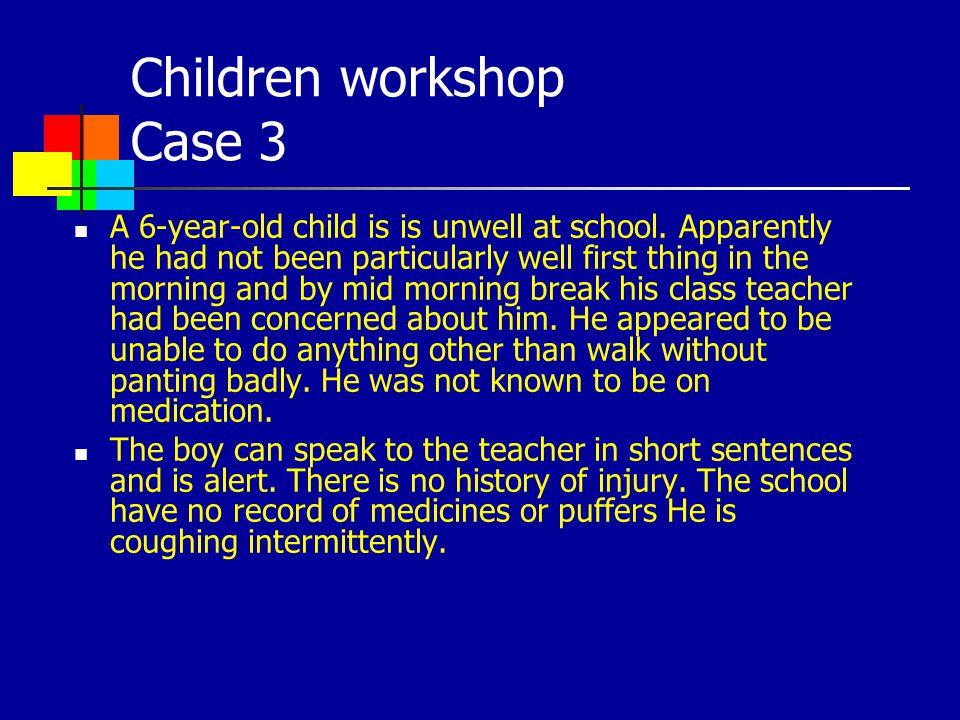 Children workshop Case 3