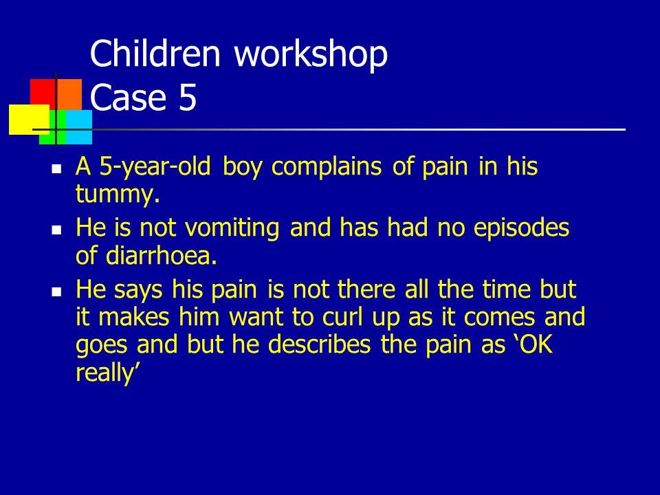 Children workshop Case 5