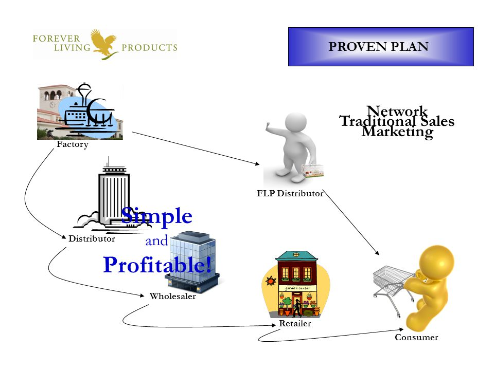 Simple Profitable! Network Marketing Traditional Sales and PROVEN PLAN