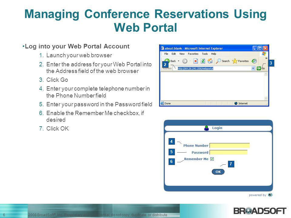Managing Conference Reservations Using Web Portal