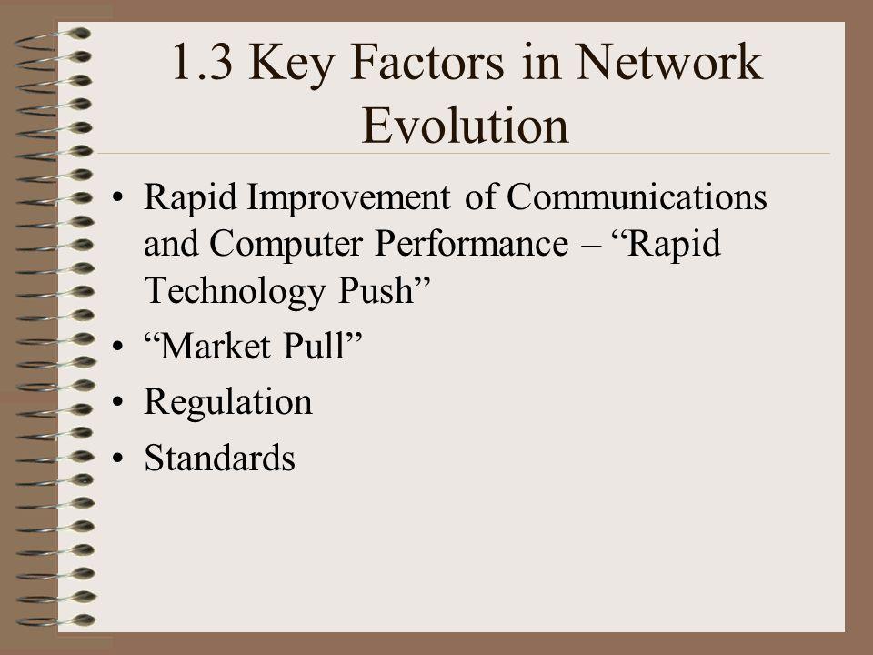 1.3 Key Factors in Network Evolution