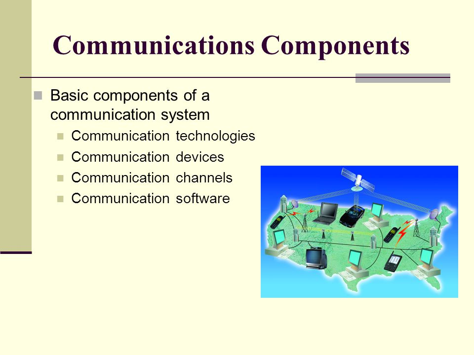 Communications Components