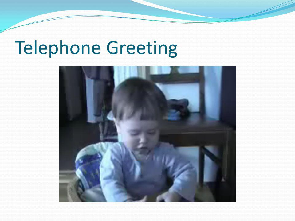 Telephone Greeting